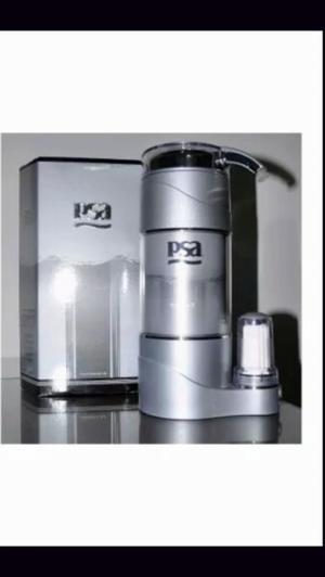 Purificador de agua PSA senior 2 plata con kit de 12 filtros