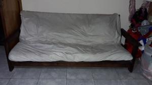 Vendo futon con colchon