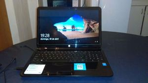 vendo notebook hp touchsmart 15, corei3, tactil, 4 gb, 500