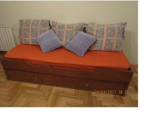 Sillon divan y cama marinera posot class for Cama completa precio