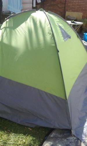 Carpa Alpes para 4 ideal para el frio y la lluvia
