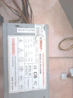 Fuentes reacondicionadas para pc 450 wats