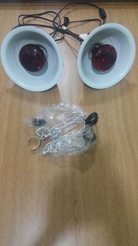 Lamparas Con Agarre De Ceramica Y Bulbo De 150w Incluidos