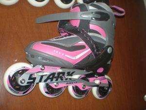Rollers Stark ABEC13 Extensible Para El Número 39 Al 42