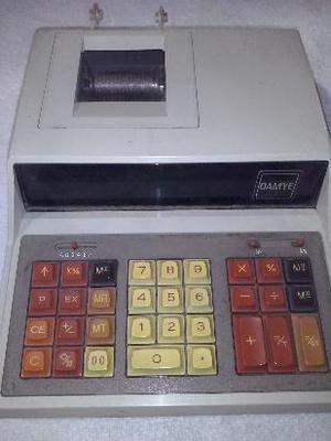 maquina de calcular con visor y tira. eléctrica (No