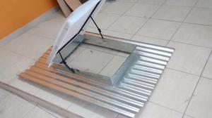 Claraboya tragaluz para techo de teja y chapa posot class for Claraboyas para techos
