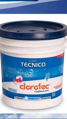 Cloro Técnico Clorotec Granulado X 10 Kg