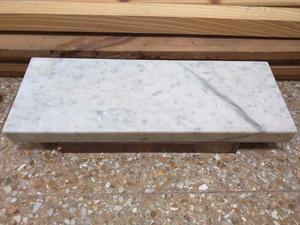 Mesa de marmol carrara y madera con patas posot class for Color marmol carrara
