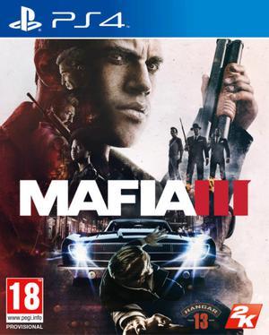 Mafia 3 PS4 físico (con mapa y pass sin uso)