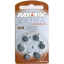 Pilas Audifono Rayovac 312 Extra Advance X Caja De 60unid.
