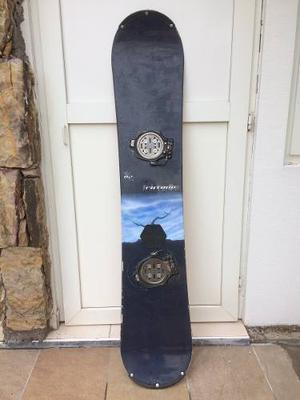 Tabla Snowboard K2 Con Fijaciones