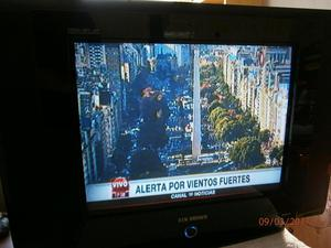 VENDO TV KEN BROWN 21 P DE PANTALLA PLANA ! 890$