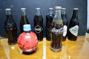 Botellas Coca Cola Edicion Limitada Lote Por 8