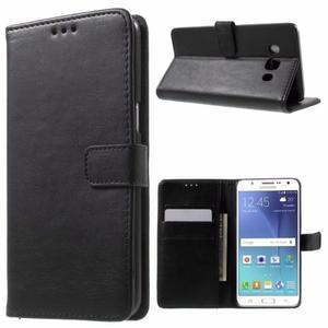 Flip cover wallet Samsung j5 j500 negro