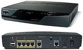 Router Cisco 871 Usado En Muy Buen Estado Y Funcionamiento!