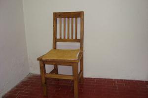 Vendo 6 sillas de madera