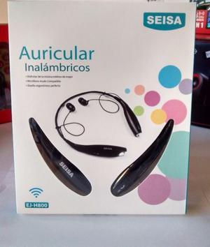 •Auriculares Bluetooth SEISA