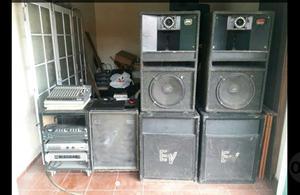Equipo Sistema de Sonido