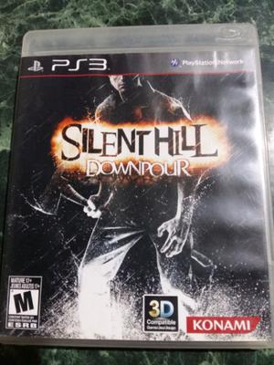 JUEGO PS3 SILENT HILL DOWNPOUR. FISICO.