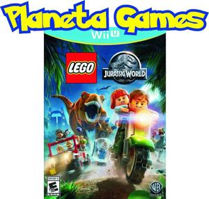 Lego Jurassic World Nintendo Wii U Fisicos Caja Cerrada