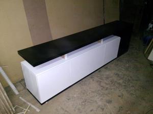 MUEBLE MODULAR LCD MODERNO LAQUEADO (PERMUTO)