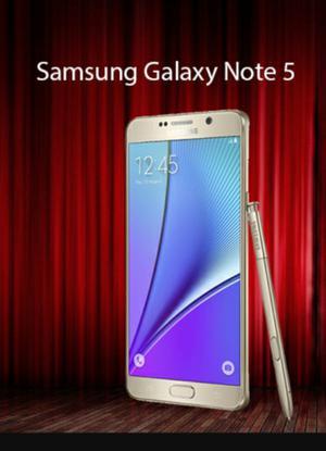 Samsung Galaxy Note 5 Dorado 32 gb 4g nuevo