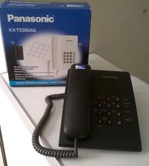 Telefono fijo Panasonic KX-TS500AG (con caja)