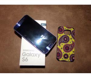 Vendo samsung Galaxy s6 flat en garantía