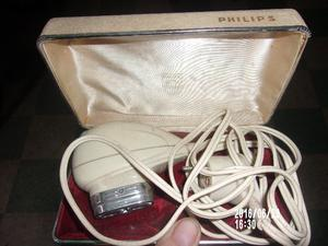 afeitadora antigua philips $600.-
