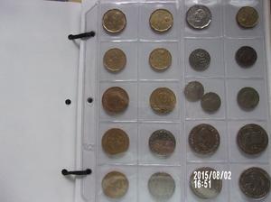 antiguas monedas argentinas $300.- lote.x5