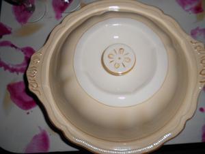 hermosa guisera de porcelana