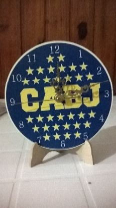 reloj de pared o con base de boca