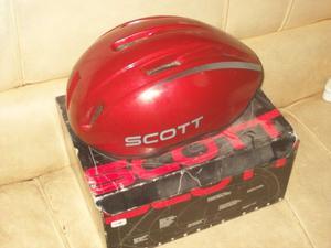 vendo casco scott made in usa con caja