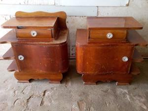 2 MESAS LUZ antiguas Estilo Art Deco. Oportunidad