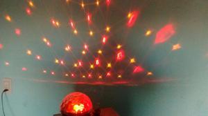 Esfera musical con luz y sonido