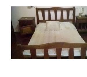 Juego de dormitorio platinum 2 plazas cama posot class for Juego de dormitorio usado