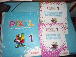 Píxel Y La Reina De Las Letras 1 + 2 Cuadernillos Sin