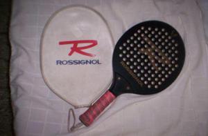 paleta de paddle rossignol con funda(use 1 vez)perfecta$500