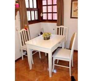 vendo juego de mesa con 4 sillas