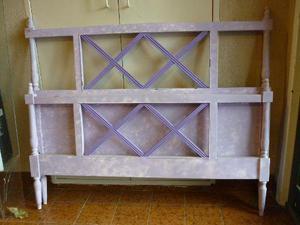 2 camas de madera maciza estilo ingles para colchon de plaza