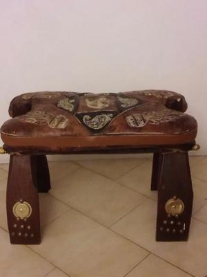 Banqueta sahariana de palma original