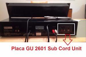 Denon Placa Gu- Sub Cord Unit - Sub Code Out Envios Inte