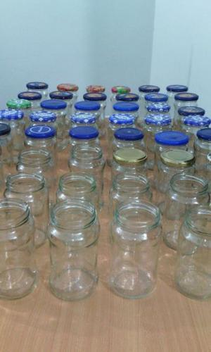 Frascos de vidrio Pack x 10 unidades