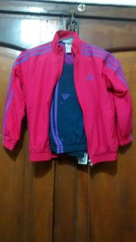 Equipo Adidas Original De Nena Talle 6 En Muy Buen Estado