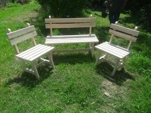 Sillones de madera para jardin rosario posot class for Sillones de jardin de madera