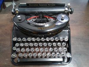 Máquina de escribir Remington Noiseless Portable