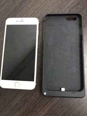 Vendo IPhone 6 Plus 64gb Impecable + funda cargador