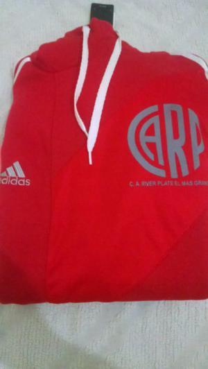 Buzo de River Plate con capucha