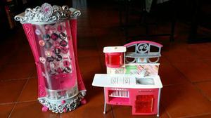 Glitter Closet +cocina De Barbie
