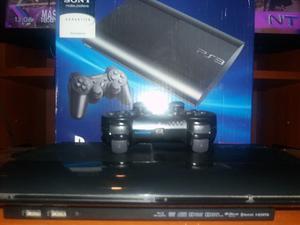 Playstation 3 Super Slim 250gb Impecable Con 7 Juegos Y Net